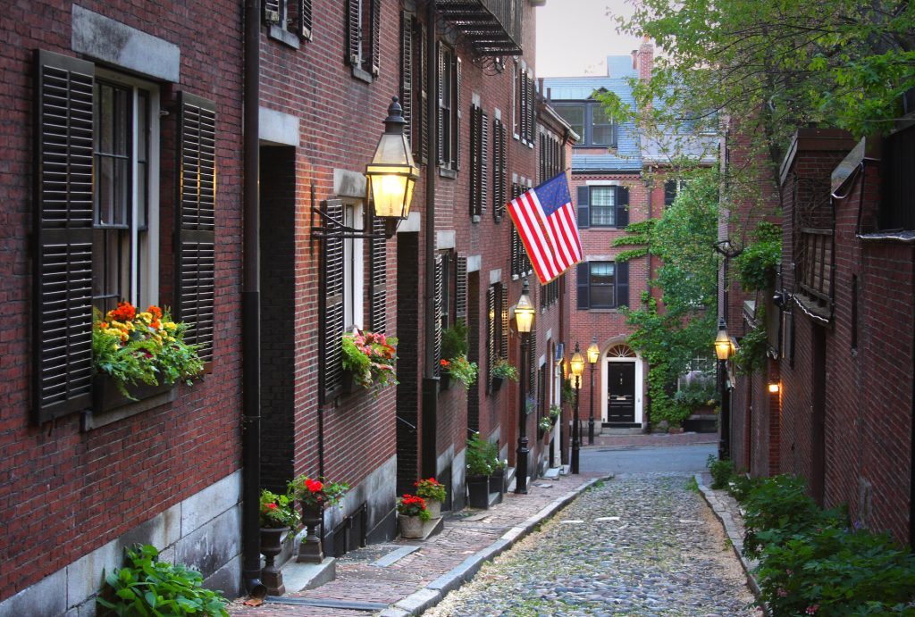 """Beacon Hill section of Boston, MassachusettsMore Boston images"""