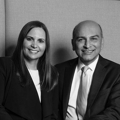 Ali Alavi & Gina Braza