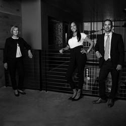 Rosella Campion, Cindi Gordon and Justin Perry