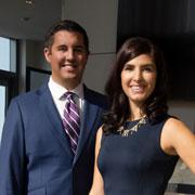 Sarah Mooradian and Phillip MacArthur