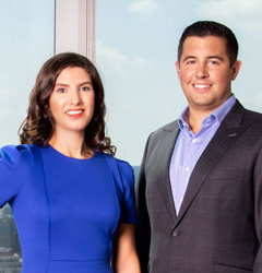 Phil MacArthur and Sarah Mooradian