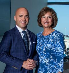 R. Wayne Lopez and Cathy Angelini